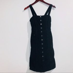 Free People button-front cord dress - Size 4